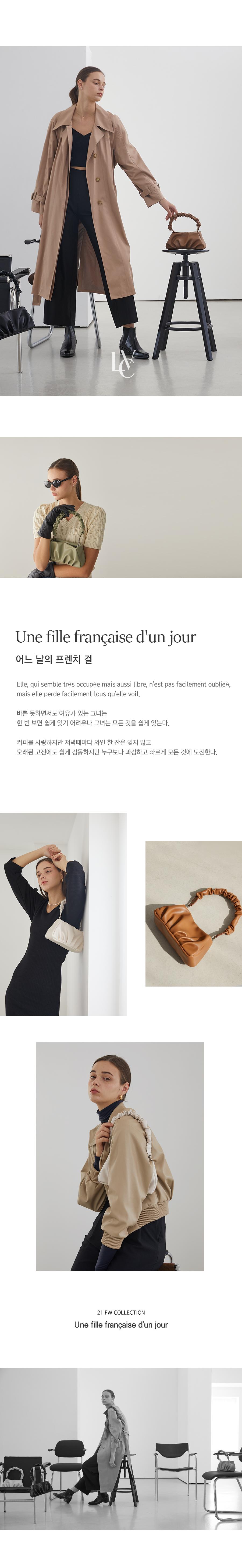 러브참(LOVE CHARM) [로에백_올리브]Roe Bag_Olive